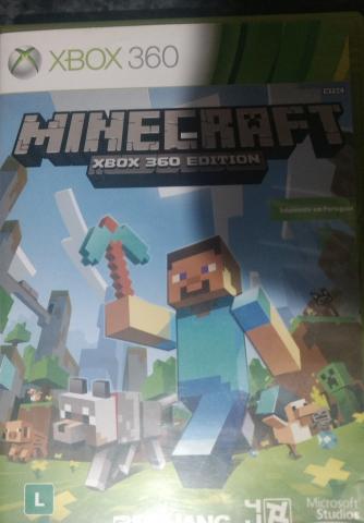 Jogo Minecraft Xbox 360 Original Usado Game