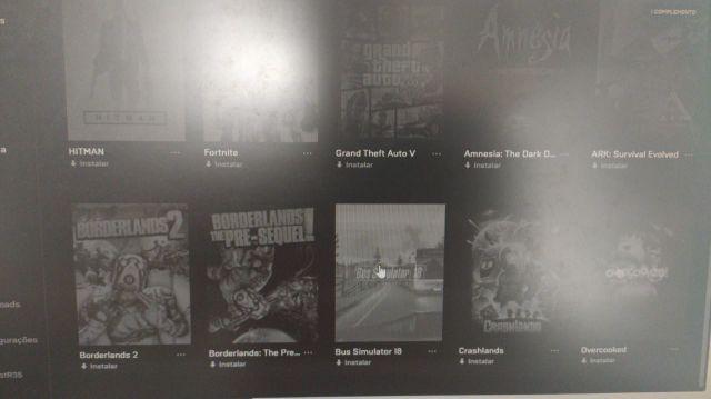 CONTA EPIC GAMES (GTA 5, HITMAN, ARK entre outros)