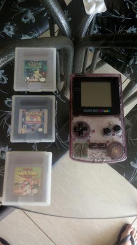 venda Game Boy Color Roxo Transparente
