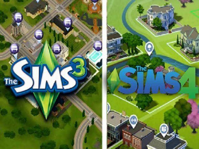 The Sims 3 e 4