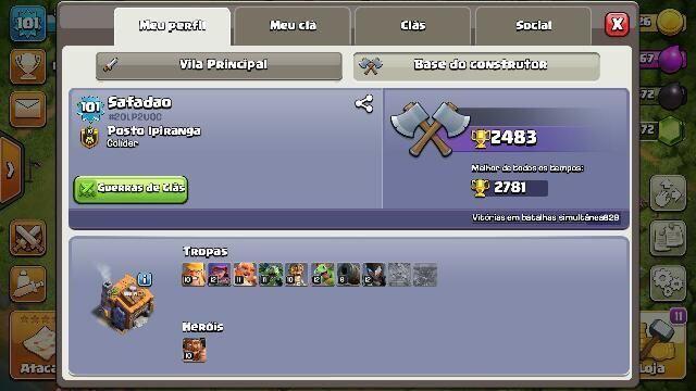 CV8 Full Clash of clans