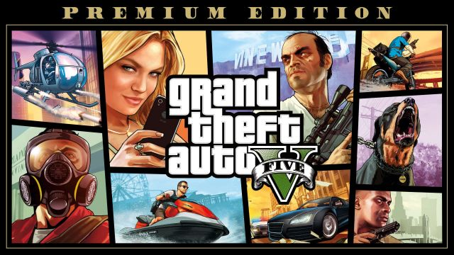 Desapego Games - Conta GTA V Premium Edition NUNCA USADA  - Online-Only/Web, PC