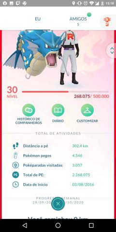 venda Conta pokémon go (desde 2016)