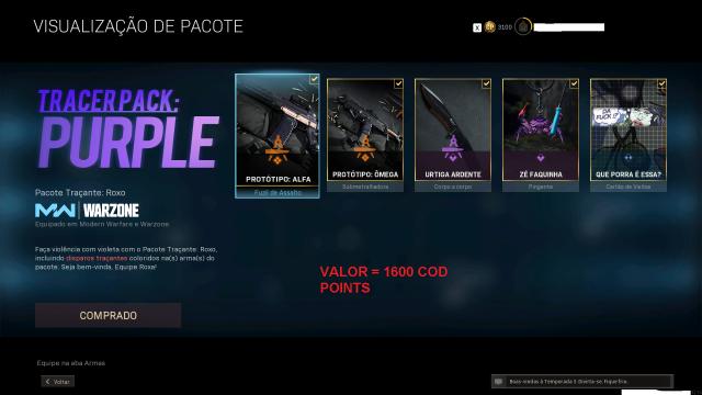 Desapego Games - Conta Call of Duty Modern Warfare +Edição Especial - Playstation 5, Outros, Xbox One, PC, PlayStation 4