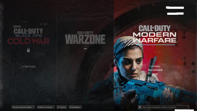 venda Conta Call of Duty Modern Warfare +Edição Especial