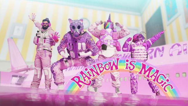 Compro conta Rainbow Six Siege