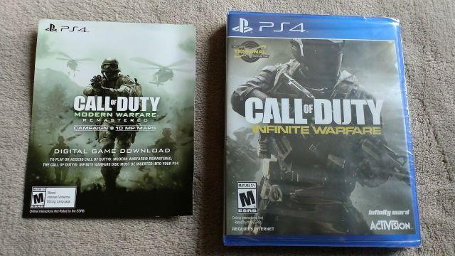 Call Of Duty Infinite Warfare + Modern Warfare PS4