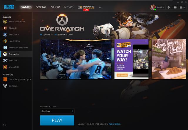 venda Conta de Overwatch level 249, elo 2542 (Platina)