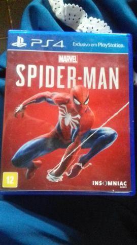 venda Ispider Man Homem Aranha Marvel PS4 Midia Fisica