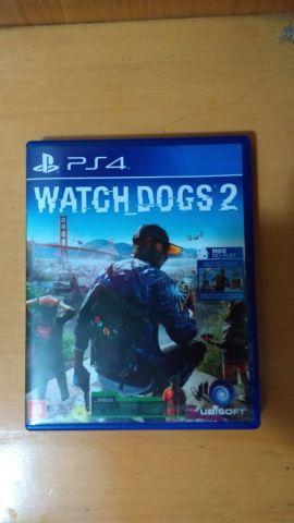 troca WATCH DOGS 2 - PS4