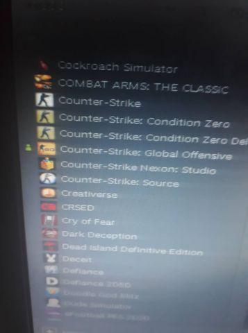 CONTA STEAM COM 57 GAMES PAGOS
