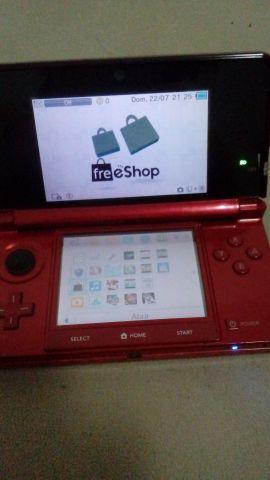 Nintendo 3ds destravado + new super mario bros 2