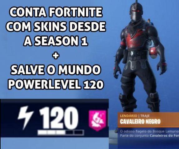 venda Conta Fortnite com season 2,3 e 4 completas.