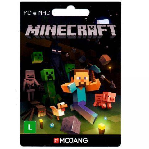 Troco Conta de minecraft original