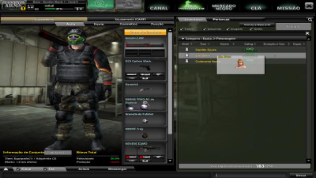 venda Conta Combat Arms (varias armas permanentes)