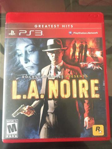 venda L.A NOIRE PS3