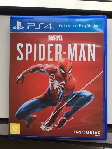 Jogo Spider Man PS4