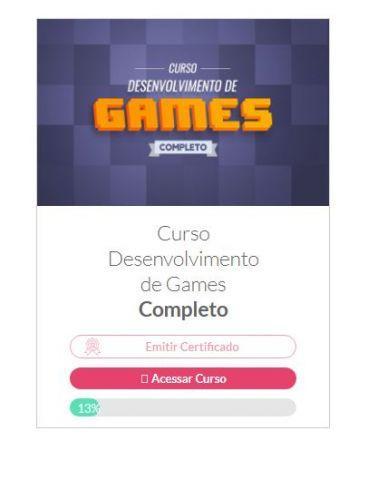 venda Danki Code - Curso de Desenvolvimento de Games