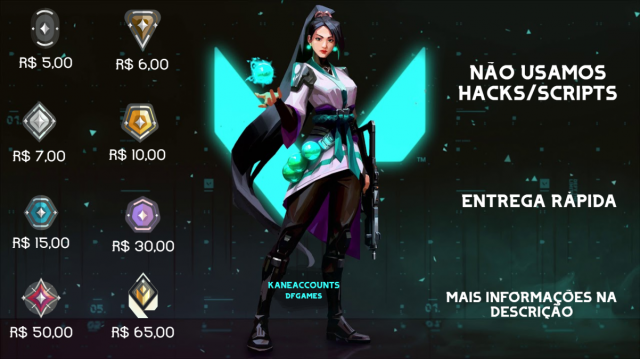 Desapego Games - KANE: ELOJOB / ELOBOOST VALORANT - Xbox One, PlayStation 3, PC, PlayStation 4