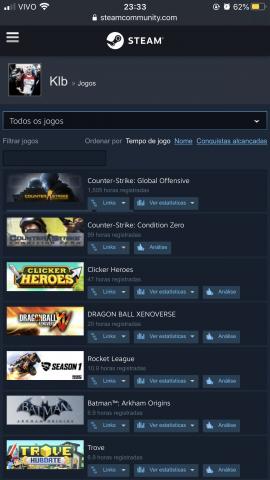 venda Conta na Steam