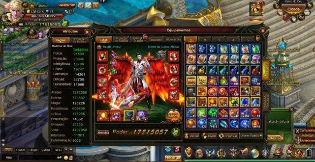 Compro conta do legend online
