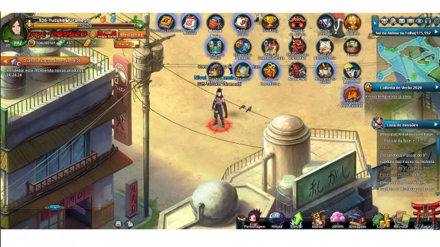 venda Conta Naruto Online