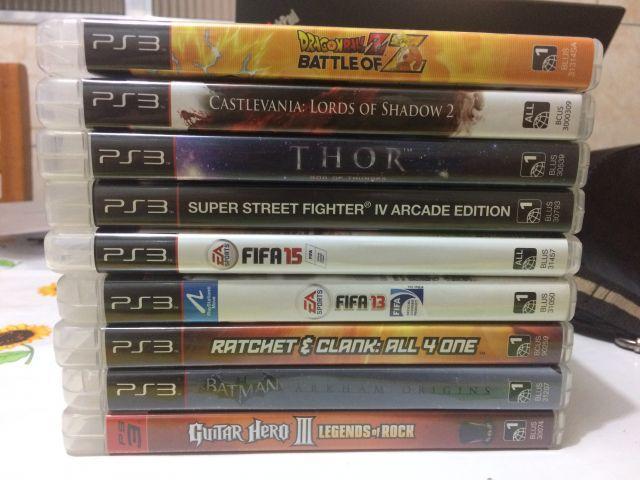 venda  Jogos PS3 (Diversos títulos - a partir de R$ 20)
