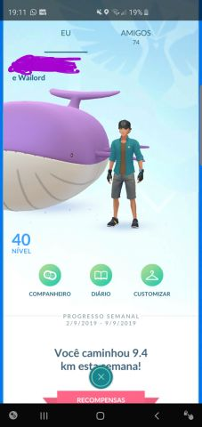 venda Conta de Pokemon GO Lvl 40 canela