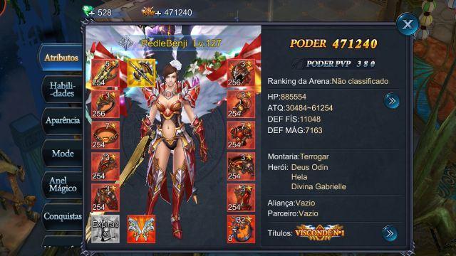 venda Conta Goddess Primal of Chaos
