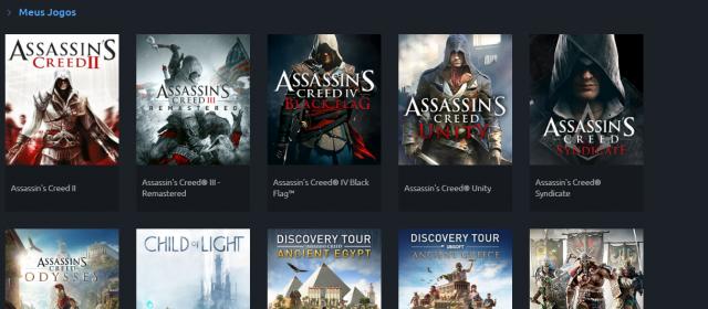venda Conta Ubisoft - 11 Jogos
