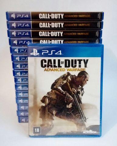 venda Call of Duty: Advanced Warfare PS4 Novo Lacrado