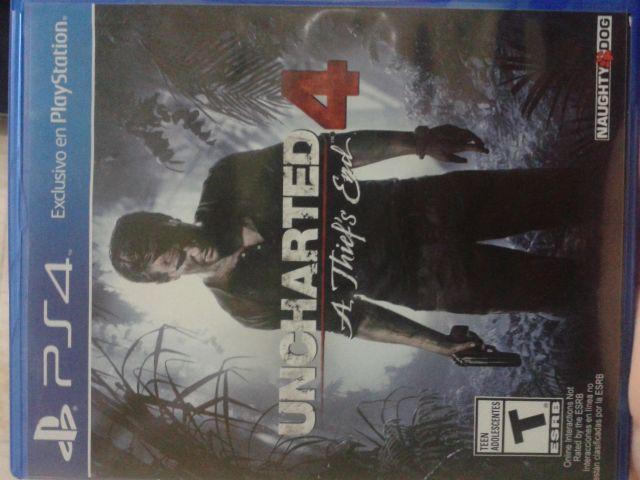 troca Uncharted 4