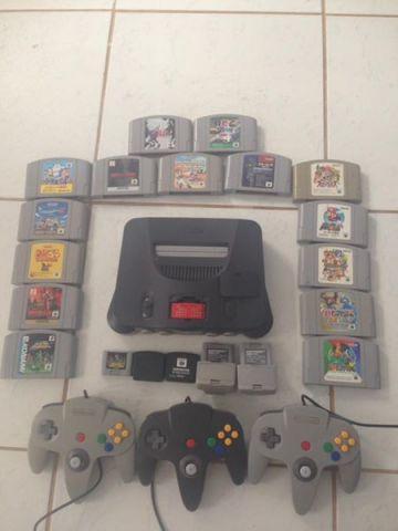 Pacotão Nintendo N64