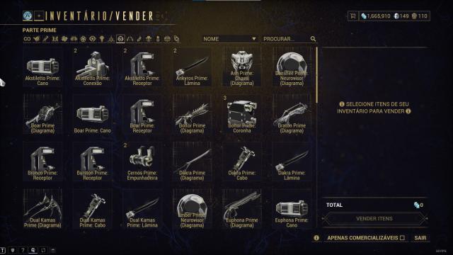 Melhor dos Games - Warframe MR19 - PC