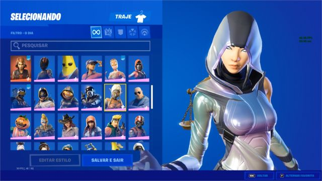 Desapego Games - Conta Fortnite - Mobile, PC, PlayStation 4