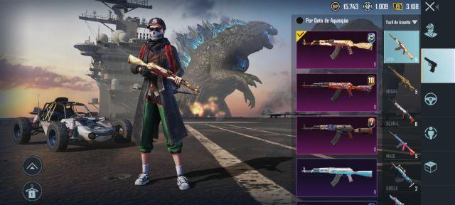 Melhor dos Games - Vende se conta do pubg mobile , valor a negociar - Xbox One, PlayStation 3, PC, PlayStation 4