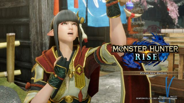 venda Conta Principal - Monster Hunter Rise