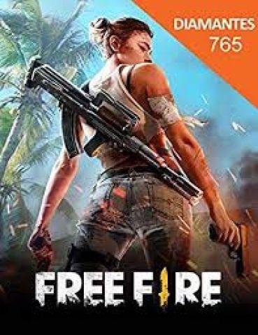 Free Fire 765 Diamantes