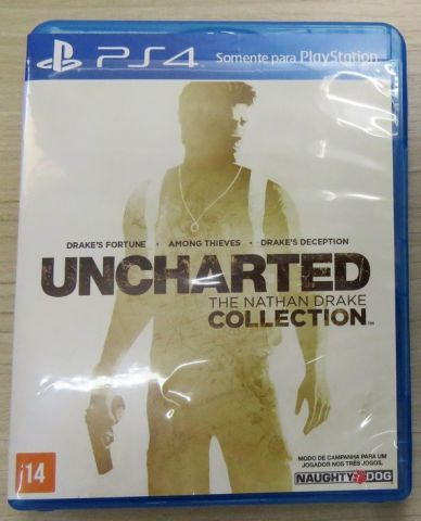 troca Uncharted: The Nathan Drake Collection