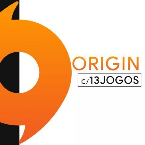 venda Conta Origin c/13 jogos