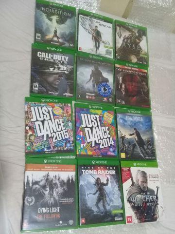 Vários jogos Xbox One