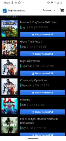 venda Conta de PS4 com vários jogos