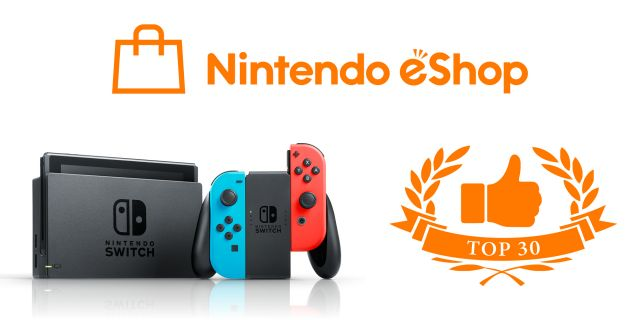 Conta eShop Nintendo Switch 28 Jogos