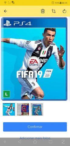 troca FIFA 2019 PS4 ORIGINAL MÍDIA FÍSICA