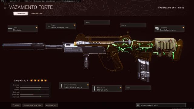 Desapego Games - CONTA DAMASCO WARZONE SKIN ROSE - Xbox One, PC, PlayStation 4
