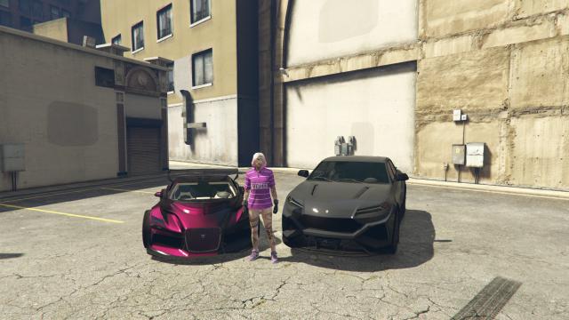 venda Conta feminina GTA 5 (xbox one)