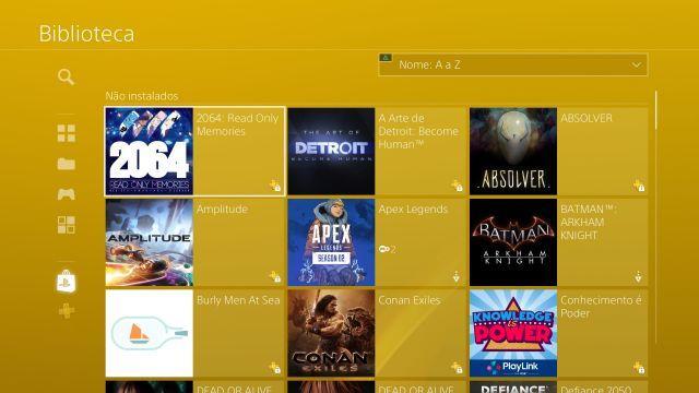 venda Conta PSN PS4 com + de 70 jogos