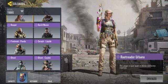 venda Conta de Call Of Duty Mobile
