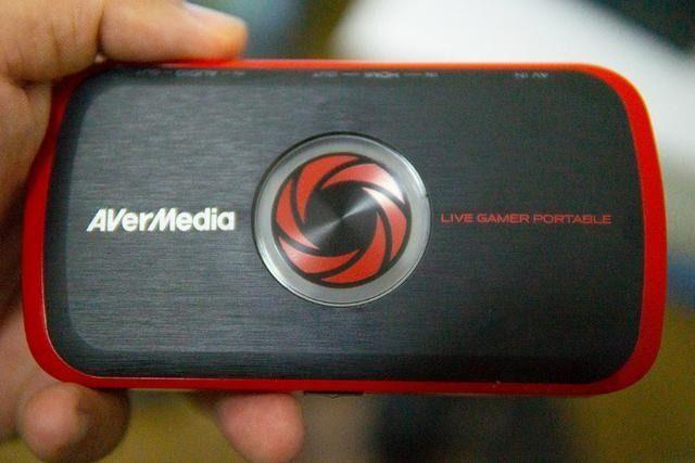 placa de captura avermedia portable