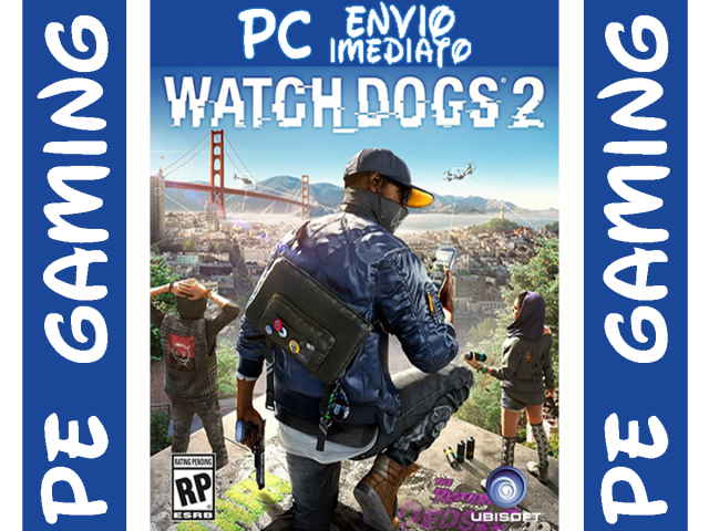 Watch Dogs 2 Pc Deluxe Edition Todas DLCs